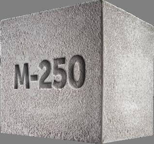 раствор цементный м250 цена за м3
